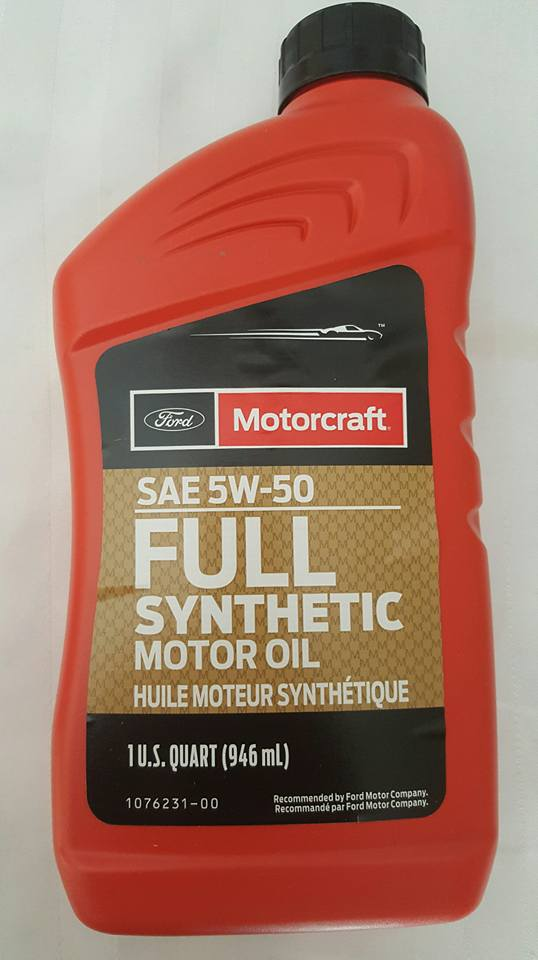 Ford Motorcraft 5w50 Full Synthetic Engine Oil Case Of