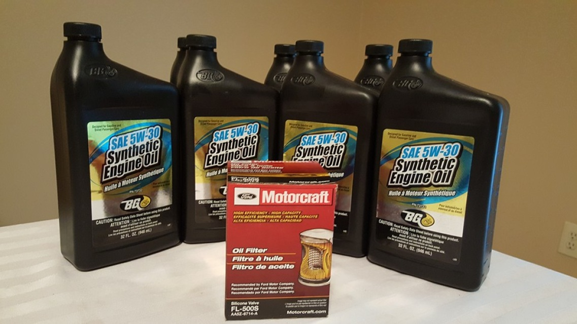 Mustang GT Oil Change Kit